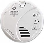 First Alert Smoke Detector and Carbon Monoxide Detector Alarm | Z-Wave $36 and more