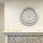 Better Home and Gardens Over-sized 28'' Wall Clock $10 (Org $40)