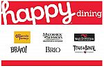 $50 Happy Dining (Red Lobster, Texas de Brazil, more) for $40 & more