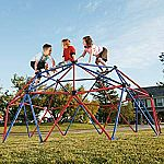 Lifetime Geometric Dome Climber Jungle Gym (10'x5') $129