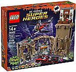 LEGO Super Heroes Batman Classic TV Series Batcave (76052) $91 + Free Shipping and more