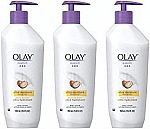 3-Pk of 11.8-oz Olay Quench Ultra Moisture Shea Butter Body Lotion $12 + Free Shipping