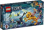 LEGO Elves Azari & The Fire Lion Capture 41192 Building Kit (360 Pieces) $17 (orig. $30)