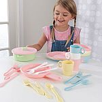 KidKraft 27-Pc. Cookware Set $9.88 and more