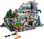 LEGO Minecraft The Mountain Cave 21137 Building Kit (2863 Piece) $200