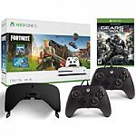 Xbox One S 1TB console + 2 BONUS Controllers + Gears of War 4 digital game + VR Headset $249