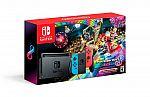 Nintendo Switch Mario Kart 8 Deluxe Gaming Console Bundle $360