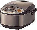 Zojirushi NS-TSC10 5-1/2-Cup (Uncooked) Micom Rice Cooker and Warmer $125