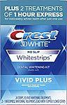 Crest 3D White Whitestrips Vivid Plus $14.99