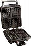 Cuisinart WAF-150 4-Slice Belgian Waffle Maker $34.88