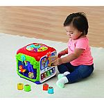 VTech Sort & Discover Activity Cube $14.88 + pickup