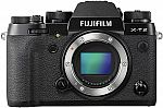 Fujifilm X-T2 Mirrorless Digital Camera (Body Only) $782.80 (org $1600)