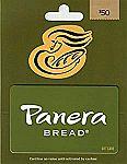 $50 Panera Bread Gift Card $40