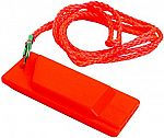 Flat Safety Whistle $1.28 (64% off)