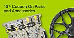 10% Coupon On Auto Parts  and Accessories