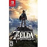 The Legend of Zelda: Breath of the Wild, Nintendo, Nintendo Switch $45