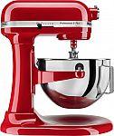 KitchenAid KV25G0XER Professional 500 Series 5-Qt Stand Mixer $200