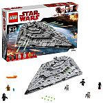 LEGO Star Wars TM First Order Star Destroyer 75190 $120