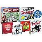 Walmart - 50% off best-selling board games, Monopoly Game $7.88 and more