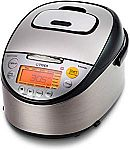 Tiger 5.5-Cup (Uncooked) IH Rice Cooker with Slow Cooker & Bread Maker $225