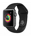 Apple Watch Series 3 (GPS, 38mm, Sport Band) $229 (org $279)