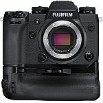 Fujifilm X-H1 24.3MP Mirrorless Digital Camera with Vertical Power Booster Grip Kit $1299