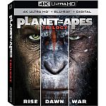 Planet of the Apes Trilogy (4K Ultra HD + Blu-ray + Digital) $16.96