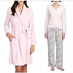 Laura Ashley Women's 2-Piece Pajama Set + Laura Ashley Robe $22