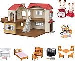 Calico Critters Red Roof Country Home Gift set $57