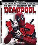 Deadpool 1+2 2-Pack (4K UHD + Blu-ray + Digital HD) $20