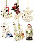Lenox Christmas Ornaments and more 75% Off