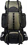 AmazonBasics Internal Frame Hiking Backpack with Rainfly $39.95