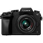 Panasonic Lumix DMC-G7 Camera w/ Lumix G Vario 14-42mm Lens $400, Panasonic Lumix DMC-GH4 Mirrorless Micro Four Thirds Digital Camera Body with Accessories Kit $698