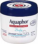 Aquaphor Baby Healing Ointment Advanced Therapy Skin Protectant, 14 Oz $8.33 or Less