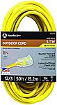 Southwire 2588SW0002 50' Outdoor Extension Cord 12/3 SJTW Heavy Duty 3 Prong Extension Cord $26.37