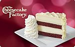 The Cheesecake Factory - $25 eGift Card + 2 Slices of Cheesecake for $25