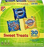 30-pack Nabisco Cookies Sweet Treats Variety Pack Cookies $6.63 or Less