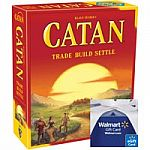 Settlers of Catan 5th Ed. + $20 Walmart eGift Card for $43.94