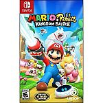 Mario + Rabbids Kingdom Battle, Ubisoft, Nintendo Switch $19.99
