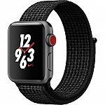 Apple Watch Nike+ Series 3 38mm Smartwatch MQL82LL/A (GPS + Cellular, Nike Sport Loop) $279 (Org $379)
