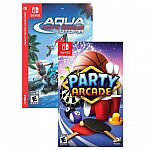Party Arcade & Aqua Moto Racing Utopia - Nintendo Switch $11