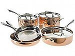 Cuisinart Copper Cookware Set, 8 Piece $150