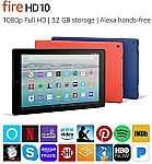 (Today Only) Amazon - Digital Day Sale: 32GB Fire HD 10 Tablet $99.99 & More