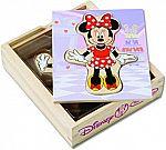 Melissa & Doug Disney Minnie Mouse Mix and Match Dress-Up Wooden Play Set (18 pcs) $4 + Free Shipping