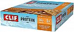8-Count CLIF Whey Protein Snack Bar: Peanut Butter & Chocolate / Salted Caramel $6.90 & more