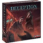Grey Fox Games Deception: Murder in Hong Kong Board Game $24