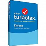 TurboTax 2018 Basic $30, Deluxe+State(PC/Mac CD) $40 + Get $5 Target Gift Card