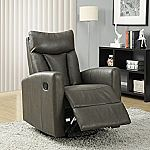 Monarch Specialties Bonded Leather Recliner $180 (org $402) & More