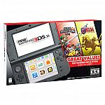 New Nintendo 3DS XL Bundle w/ Super Smash Bros. 3DS and The Legend of Zelda: Ocarina of Time 3D $199 (Costco Members only)