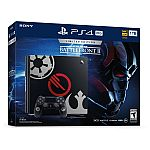 1TB Sony PlayStation 4 Pro Star Wars Battlefront II Limited Edition Bundle $349 + Free Shipping